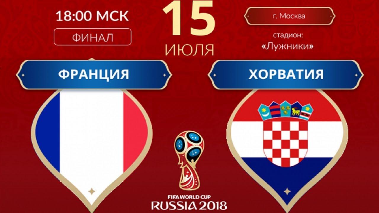 Франция – Хорватия | Подробный обзор матча | Чемпионат мира 2018 | ФИНАЛ
