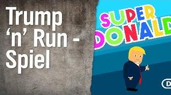 Super Donald - Das ultimative Trump 'n' Run Spiel | extra 3 | NDR