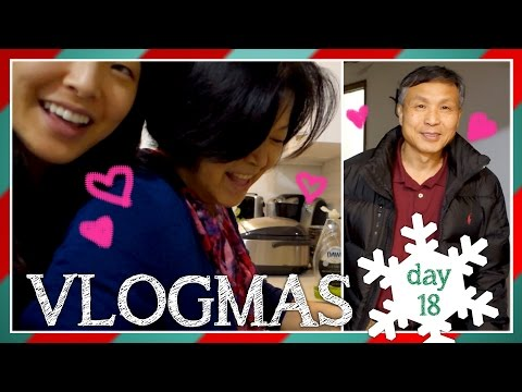VLOGMAS | Day 18 (COOKING WITH MY PARENTS)