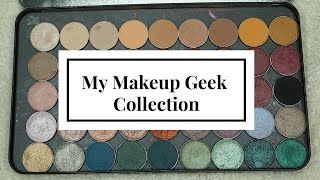 My Makeup Geek Collection + Swatches