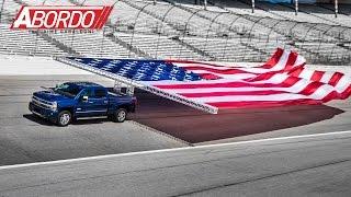 Chevrolet bate record Guinness con su nueva Silverado HD 2017