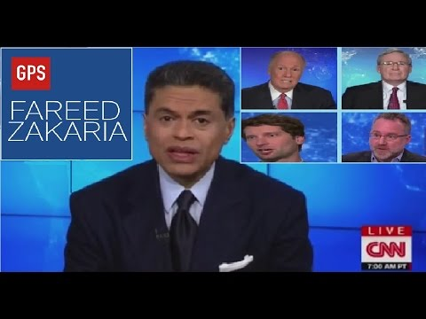 Fareed Zakaria GPS: WIRETAP ,NORTH KOREA, RUSSIA,AMERICAN DREAM ,ISIS,IMMIGRATION PLAN ,BIG DATA