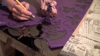 видео Матирование стекла без плоттерной резки в домашних условиях