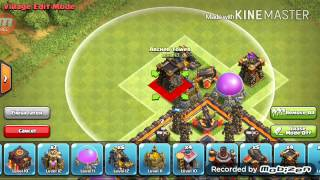 Clash Of Clans TH10 Farming Base 275 Walls (NEW) UPDATE Speed Build