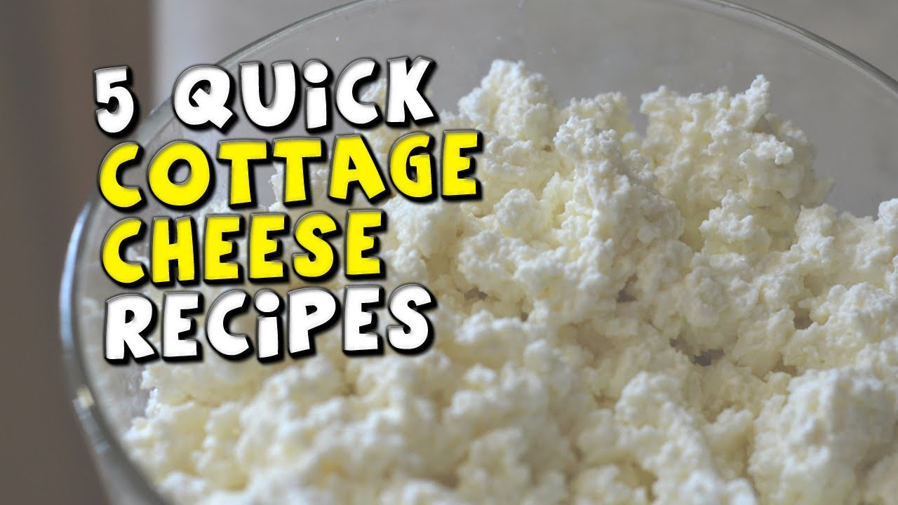 5 Quick Cottage Cheese Recipes Youtube