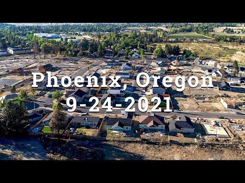 Phoenix, Oregon One Year Post Fires | Almeda Fire