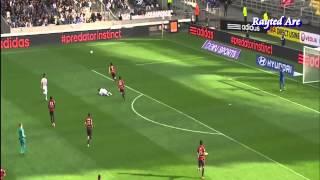 Alexandre Lacazette (Lyon) vs Lille (Oct 5th 2014)