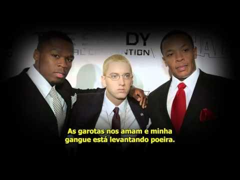 Eminem Feat. Dr. Dre,  50 Cent - Crack A Bottle [Legendado + Review]