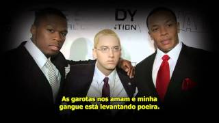 Eminem Feat. Dr. Dre,  50 Cent - Crack A Bottle [Legendado + Review]