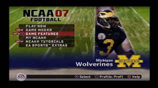 NCAA FOOTBALL 07 WITH 2018 ROSTERS
