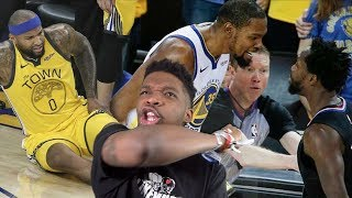 BIGGEST CHOKE IN HISTORY LMFAO! WARRIORS vs CLIPPERS 2019 PLAYOFFS GAME 1 & 2 HIGHLIGHTS