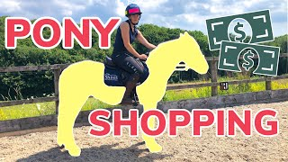 PONY SHOPPING ~ What we do when buying a new horse or pony & meet my NEW PONY!