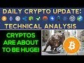 CRYPTOS Are About To Be HUGE! (BE PREPARED & PROFIT!!!)