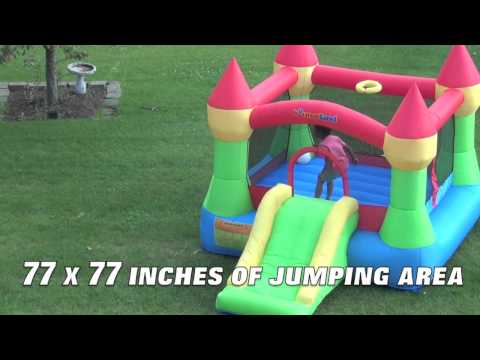 Bounce Castle with Slide - Inflatable Bounce Castle USA