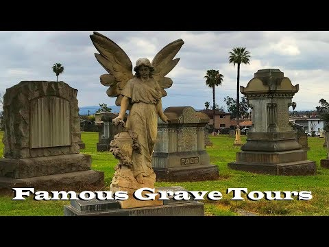 FAMOUS GRAVE TOUR: Murder Victims Ramon Novarro And Leno La Bianca At Calvary Cemetery