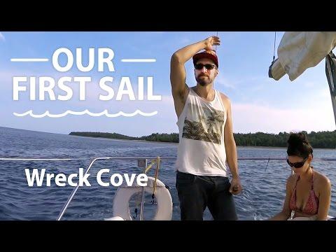 Sailing to an uninhabited island!- Wreck Cove [ Ep3 - Sailing Nova Scotia ]