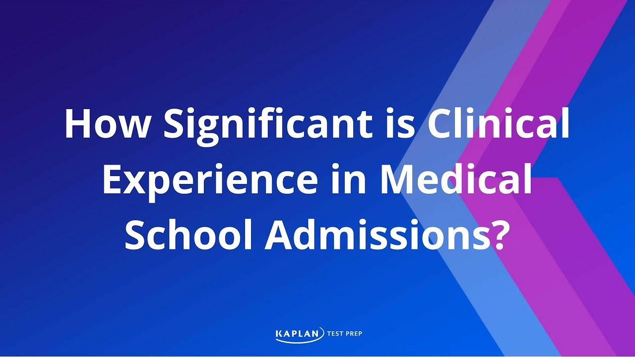 How can I get into med school with limited experience?