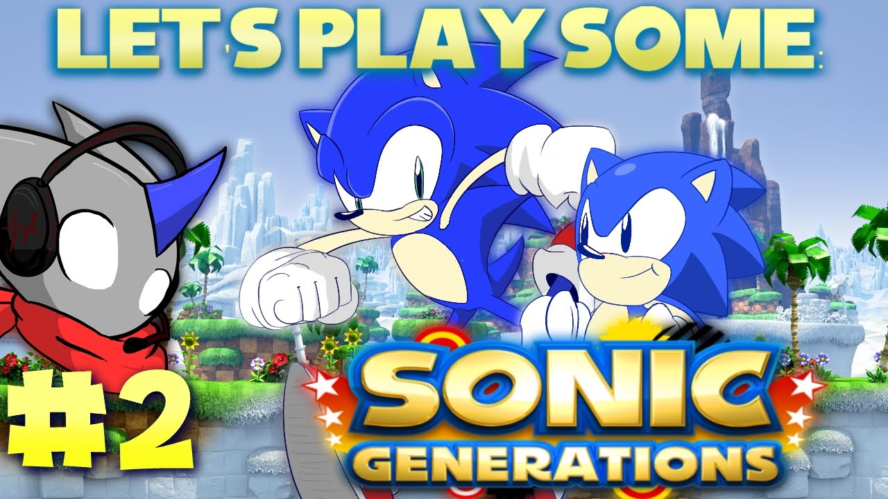 Let´s Play Sonic Generations Part 2 Xbox 360 HD - YouTube  |Sonic Generations 2 Player Mode