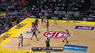 Jacob Wiley Posts 10 points & 10 rebounds vs. Sydney Kings