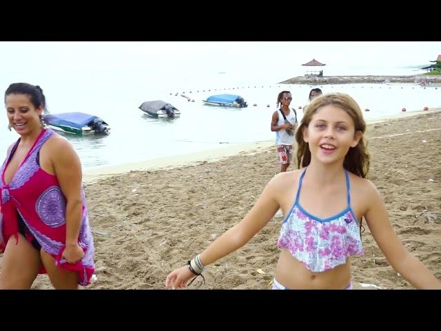 Unstoppable family in Grand Mirage Resort Bali