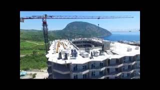 """ЖК """"Шато Лувр"""", Крым, Гурзуф!!! Строительство самого большого жилого дома атриумного типа!!!"""