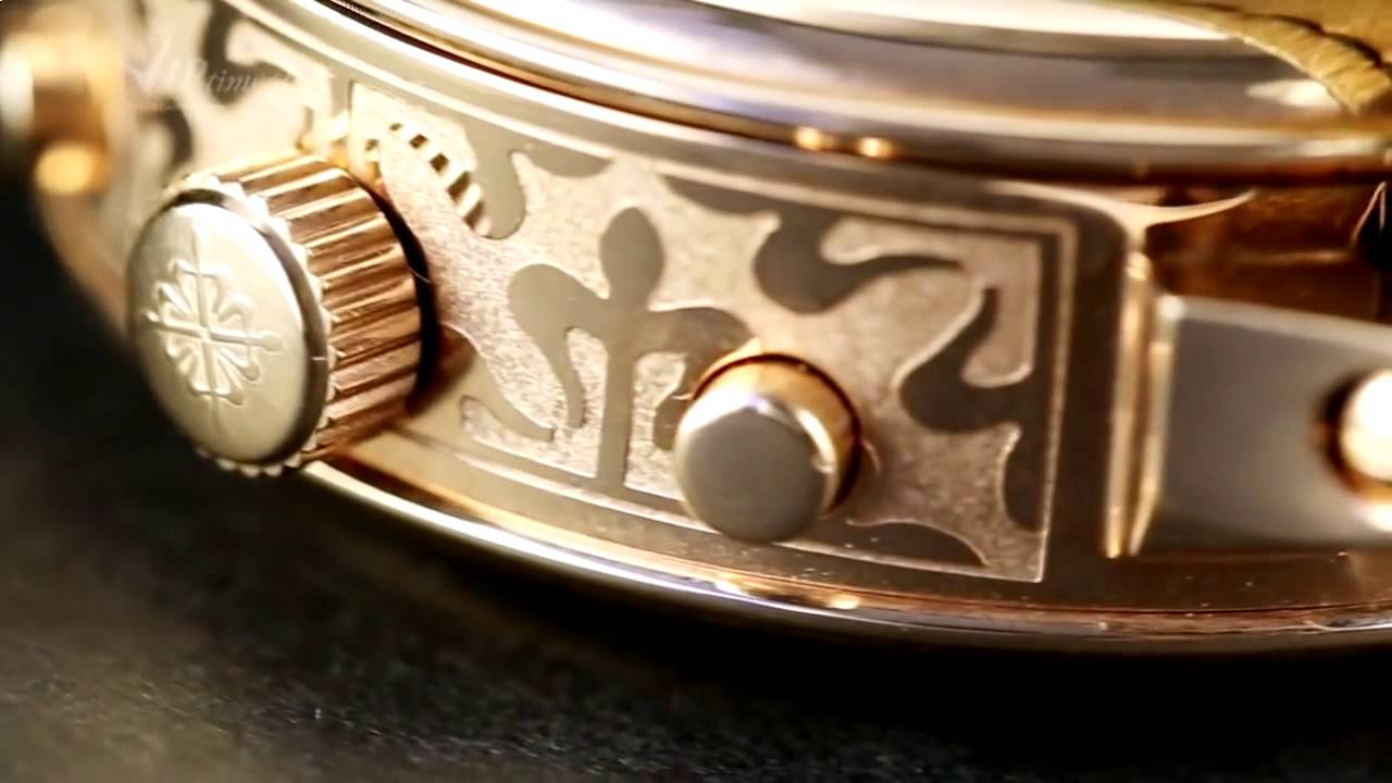 PATEK PHILIPPE Sky Moon Tourbillon (Replika) - YouTube