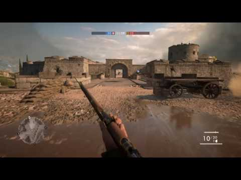 Battlefield™ 1 - Team Deathmatch - Playing Scout/Supporter as Kingdom of Italy (No commentary)