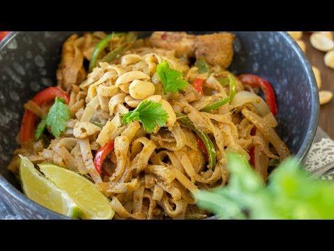 Stir Fry Noodles With Peanut Sauce