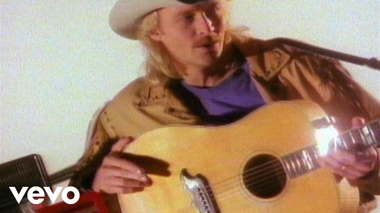Alan Jackson Don T Rock The Jukebox Official Music Video Youtube