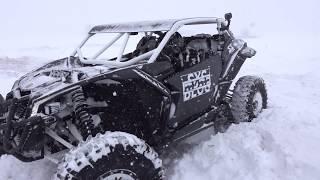 Beastmode Vs Battlefield In The Snow...? X3 Vs Turbo S