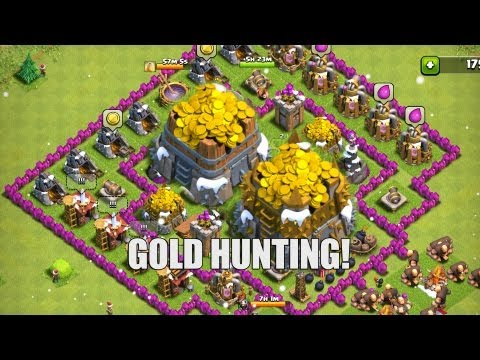 Clash of Clans - Part 26 - Gold Hunting