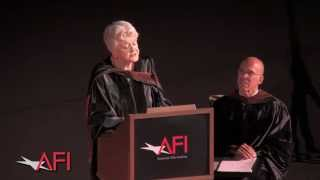 Angela Lansbury Speaks at AFI Conservatory Commencement 2015