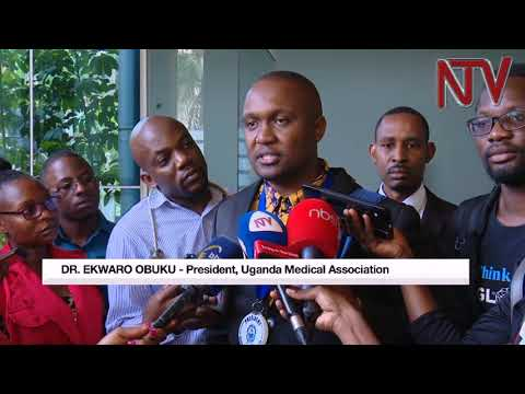 Uganda medical association, government meet this afternoon