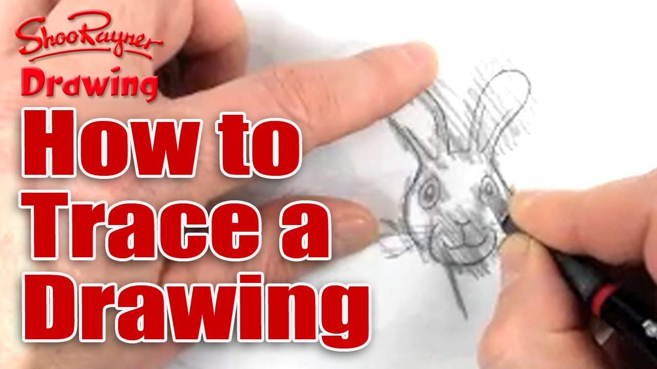 how to trace a drawing youtube