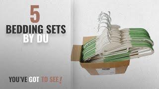 Top 10 Du Bedding Sets [2018]: Dry Wet Plastic Hangers Amphibious Green with non-slip Shoulder Pads