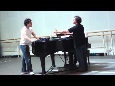 Vittorio Grigolo - Rehearsing Manon