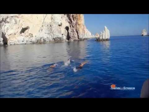 Swimming holidays in Greece/SwiminGreece/7 days/3 Islands