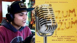 Reaccion Zum Zum Remix Plan B, Natti Natasha,Daddy Yankee, Rkm Ken-Y, Arcangel.mp3