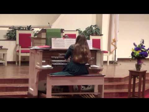 Katie Loudermilk Organ Recital at Central Christian Church