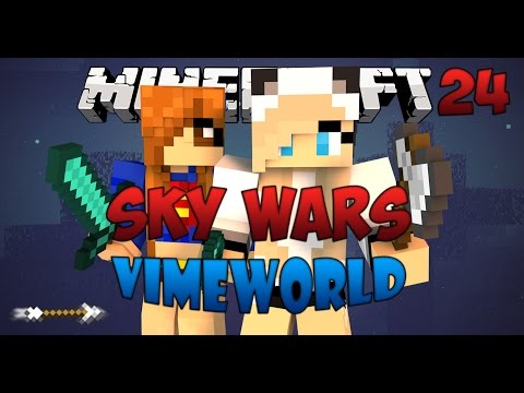 Minecraft Sky Wars #24(VimeWorld)