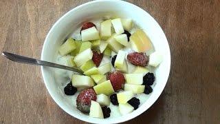 Диета, как правильно приготовить завтрак