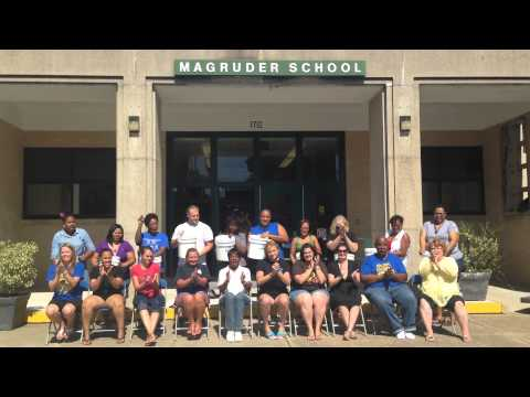 Discovery STEM Academy at Magruder Elementary ALS Challenge
