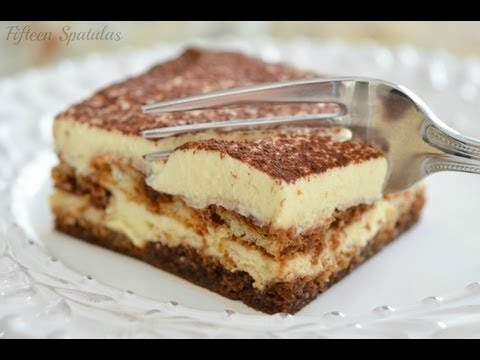 Recipe  Easy Makeahead Dessert with Espresso and Mascarpone  YouTube