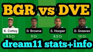 BGR vs DVE Dream11 Prediction|BGR vs DVE Dream11|BGR vs DVE Dream11 Team|