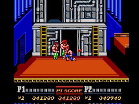 """[TAS] NES Double Dragon II: The Revenge """"2 players"""" by xipo in 08:21.61"""