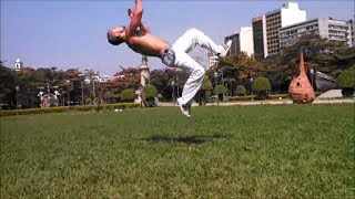 How to do a Backflip - Tutorial Salto Mortal Parte 1 - Capoeira - English subtitles