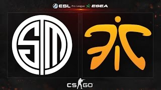 CS:GO - Fnatic vs. TSM [Mirage] - ESL ESEA Pro League - Week 6, Day 3