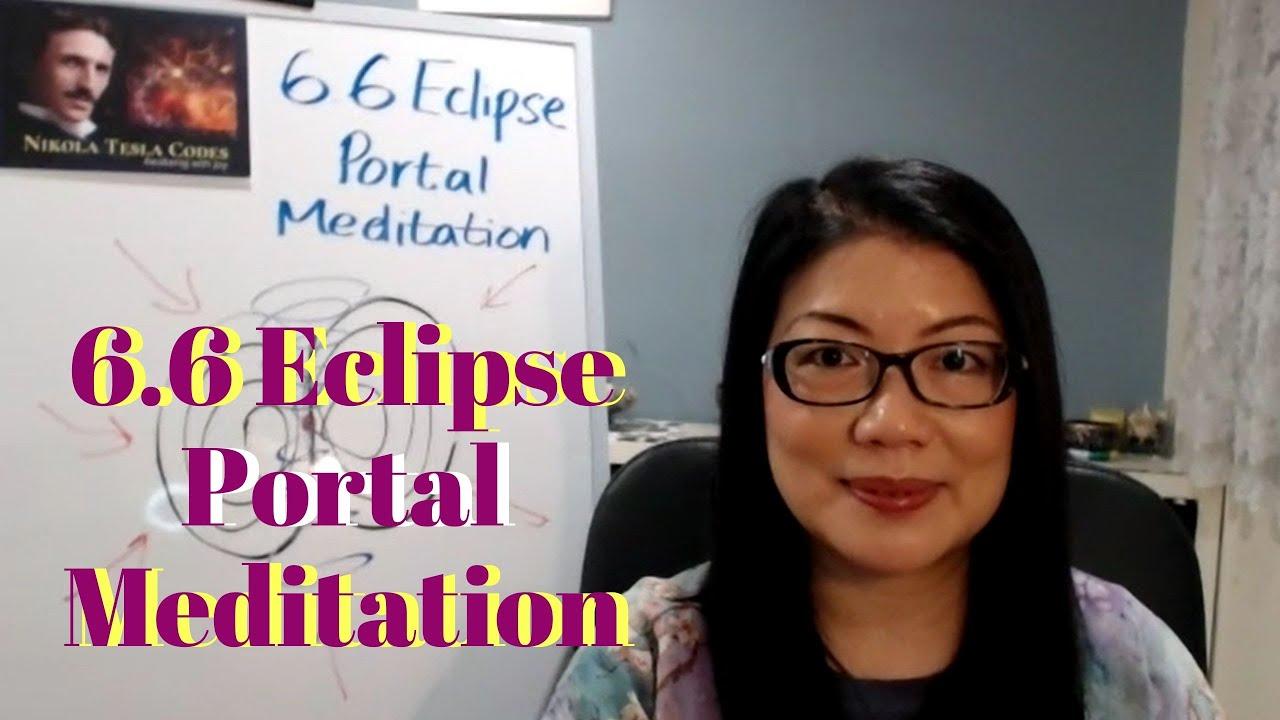 6.6 Eclipse Portal Meditation || Tesla Codes #21