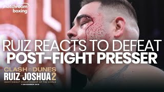 Post-Fight Press Conference: Andy Ruiz | Ruiz vs Joshua 2