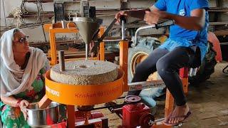 3 way Flour Mill    आटा चक्की    #cycling + #motorised + #handchakki
